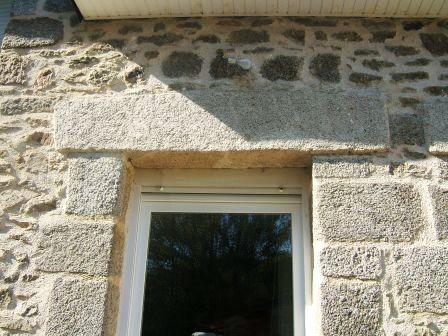 Faux linteau pierre